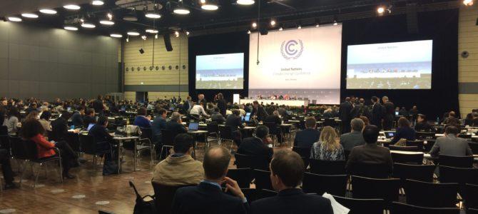 Klimatförhandlingarna i Bonn – hur säkerställer vi öppenhet, balanserat deltagande och etiskt beslutsfattande i FN:s klimatpanel?