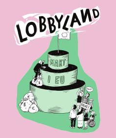 Omslaget för Lobbyland