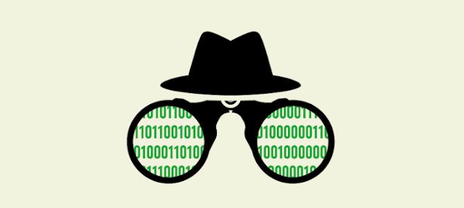 Temabild IT och integritet. Vi riskerar massövervakning.