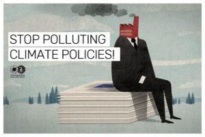 Sluta förorena klimatpolitiken