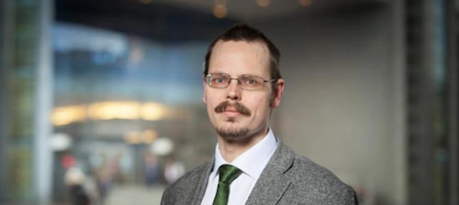 Max Andersson i EU-parlamentet